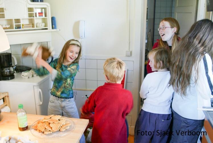 Schoonhoven - Basisschool 'Iederwijs'  foto sjaak verboom / 23-9-2002